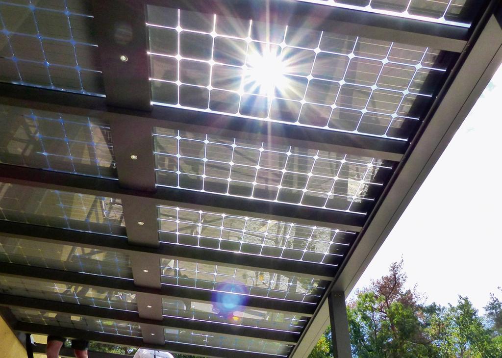 Überkopf-Solardach